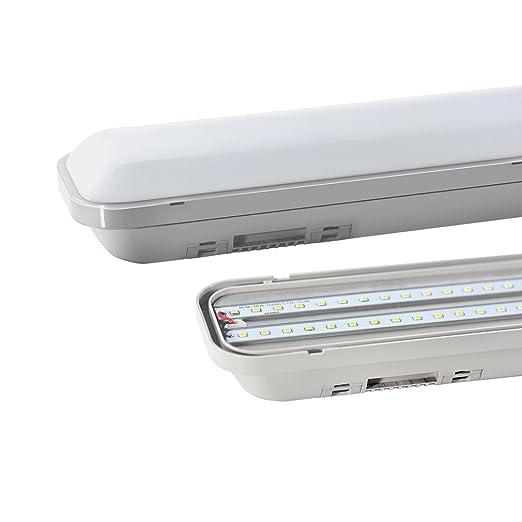 Osram 4058075093737 Lot de 3 Luminaires LED Verre 17 W Gris 126.5 x 7.2 x 8.6 cm GU10