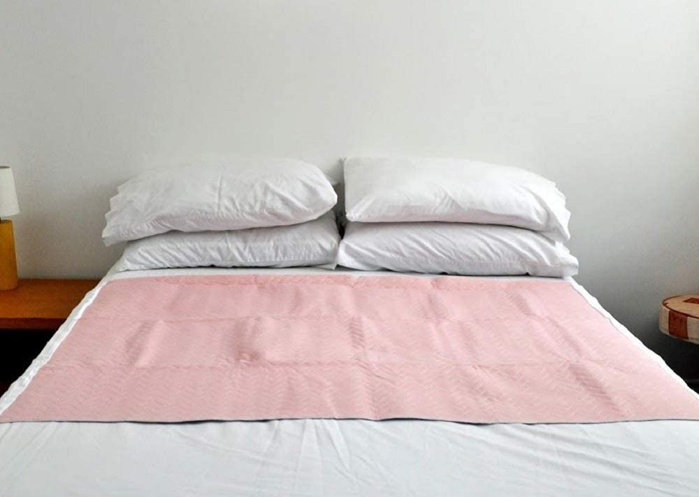 Washable Double Bed Pad / Protector with Tucks