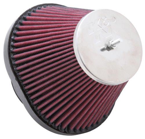 K&N RC-5056 High Performance Universal Clamp-on Chrome Air Filter