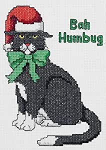 janlynn bah humbug door decor cntd x stitch