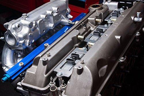 MK4 Toyota Supra Aristo LQ9 Ignition Coil Conversion Bracket 2JZ 2JZGTE 2JZ-GTE