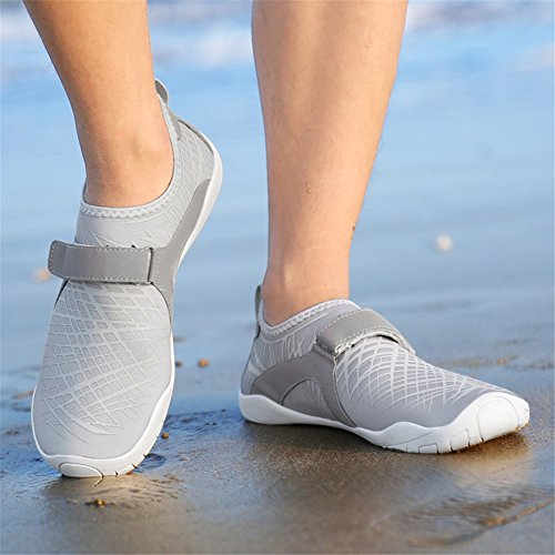 Aqua Shoes Women's Shoes New Dry Men Spring Swim Barefoot Shoes Thick And Yoga Summer Quick Shoes Shoes Fitness soled D Lovers Sports Shoes Beach wIa16B