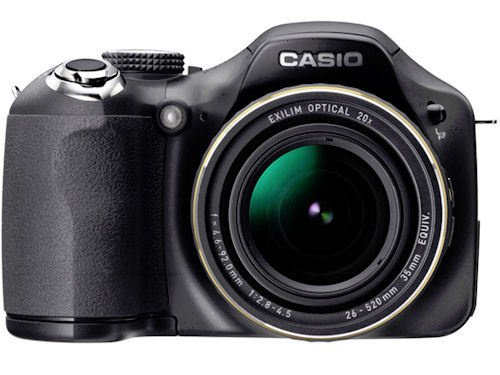 Casio Japan Exilim Ex-fh25 10.1 Megapixel Bridge Camera - Black