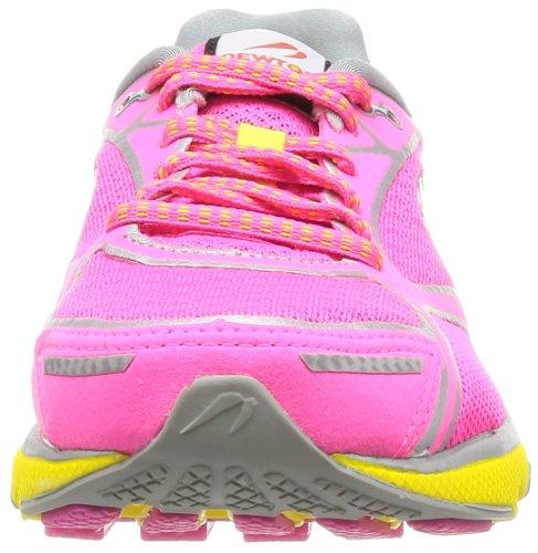 Newton Running Donna Gravità Iii Rosa / Argento / Giallo Scarpa Da Corsa 6.5 Donne Us