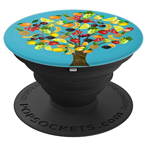 Fruit Tree Pineapple Orange Banana - PopSockets Grip and Stand for Phones and Tablets