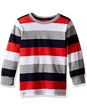 Baby Boys' Yarn-Dye Striped Tee