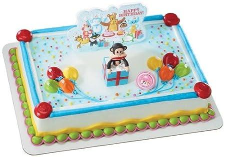 Paul Frank Julius Monkey Surprise Party Cake Topper Set Amazoncouk Kitchen Home