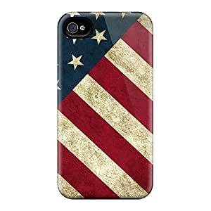 Ideal JonathCo Case Cover For Iphone 4/4s(american Flag), Protective Stylish Case