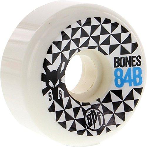 BONES WHEELS SPF Trance 58mm White 84b Wheels (Set Of 4)