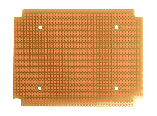 PR1590BB ProtoBoard for 1590BB Box, 2-Hole Pads, 1 Sided PCB, 3.20 x 4.25 in (81.3 x 108.0 mm)