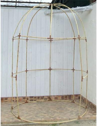 De bambú Natural Pergola Haxnicks: Amazon.es: Jardín