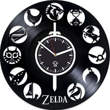 Wall Clock Online Amazon | Amazon Com Zelda Online Game Zelda Vinyl Record Clock Kovides