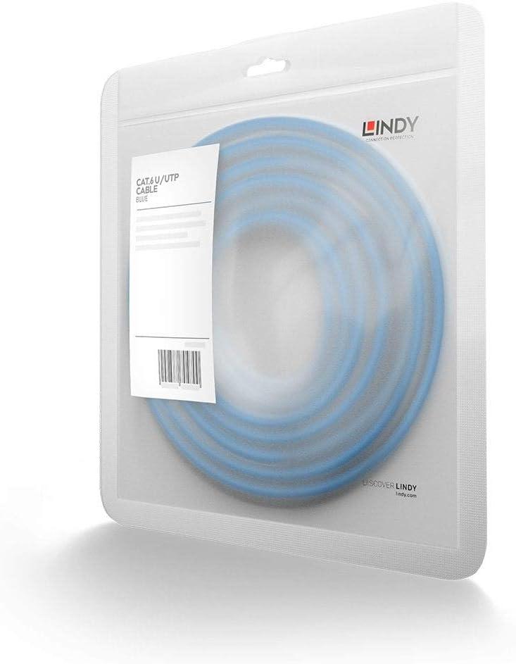 30m Blue Lindy 48025 CAT6 U//UTP Snag Less Gigabit Network Cable
