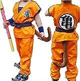 Anime Store Dragon Ball Z Son Goku Saiyan Cosplay Costume Kids Uniform (M)