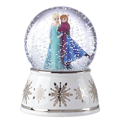Lenox 853108 Classics Disney's Elsa & Anna Musical Snowglobe by