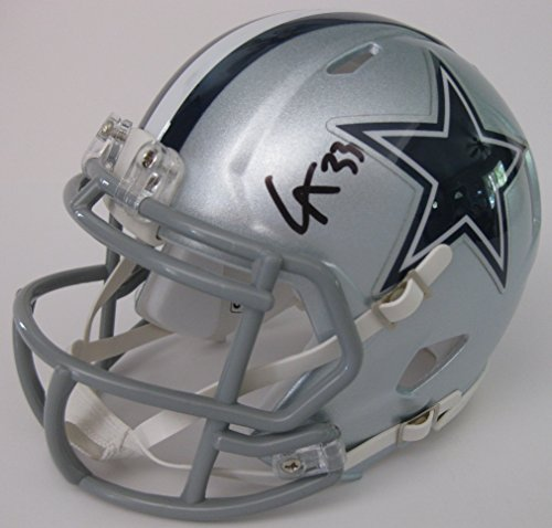 Pro Dallas Cowboys Autographed Helmet - Chidobe Awuzie, Dallas Cowboys, Signed, Autographed, Football Mini Speed Helmet, a COA with the Proof Photo of Chidobe Signing Will Be Included
