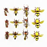 #9: Flyafish Horse Fly Bumble Bee Honey Bee Wasp Dry Flies Fly Fishing Lure