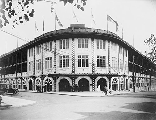 Pittsburgh, Pennsylvania - Forbes Field Baseball Stadium - Vintage Photograph (16x24 Fine Art Giclee Gallery Print, Home Wall Decor Artwork Poster) - Forbes Baseball Field