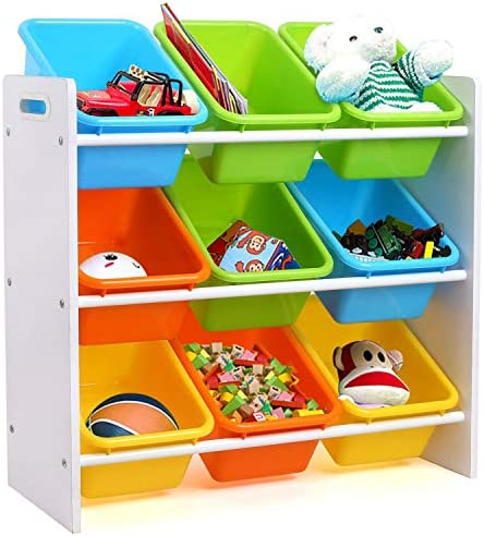 HOMFA Toddler's Toy Storage Organizer