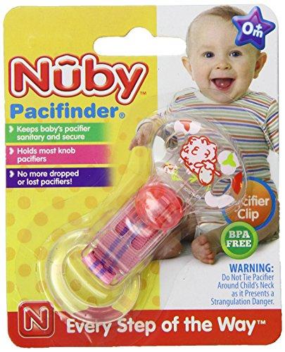 Nuby Brites BPA Sucette gratuit Clip, les couleurs peuvent varier