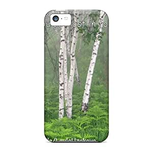 Forever Collectibles Lost In Forest Alone Hard Snap-on Iphone 5c Case
