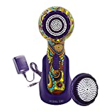 Michael Todd Soniclear Elite Antimicrobial Facial Cleansing Brush System, 6-Speed Sonic Powered Exfoliating Face Brush, Hippie Chic