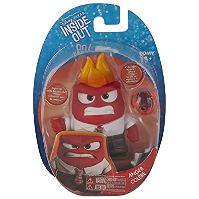 Inside Out Small Figure, Anger: Toys & Games
