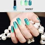 Dolloress Beauty Nail Belleza Uña⭐Nature Picture 6ML Long Lasting Nail Polish Color Temperature Change Health Non Toxic Nail Oil Polish