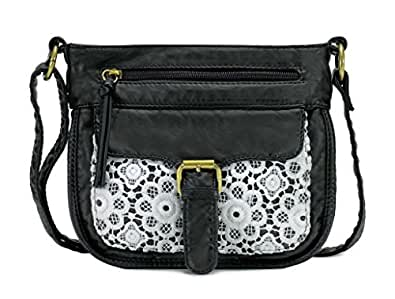 Scarleton Mini Lace Crossbody Shoulder Bag For Women
