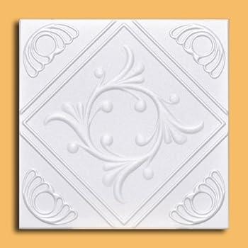 Amazon Com White Styrofoam Ceiling Tile Astana Package