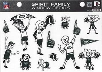 Rico NFL Small Family Sticker Sheet