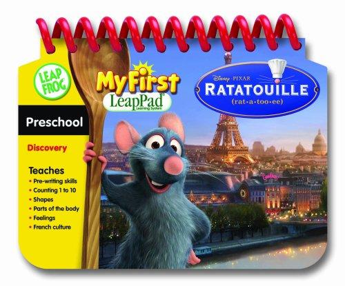 First LeapPad Educational Book Ratatouille