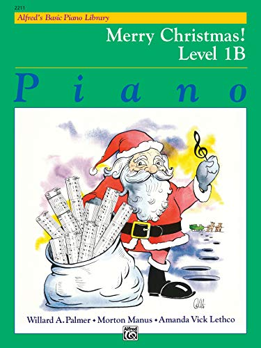 Alfred's Basic Piano Library Merry Christmas!, Bk