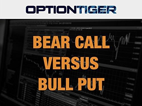 Bear Call versus Bull Put