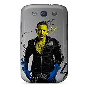 Anti-Scratch Hard Cell-phone Case For Samsung Galaxy S3 With Allow Personal Design Realistic Linkin Park Pattern KevinCormack