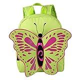 Advocator Kid's Bookbag Kindergarten School Bag Girls Toddler Backpack with Butterfly Wings