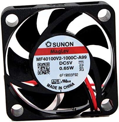 For SUNON MF40100V2-1000C-A99 4010 4CM 5V 0.65W cooling fan