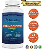 Immune System Support - Immune System Booster with Vitamins, Herbs, Antioxidants and Other Nutrients Needed for Immune Defense - Boost Your Immune System Naturally, 100% Satisfaction Guarantee 60 Caps