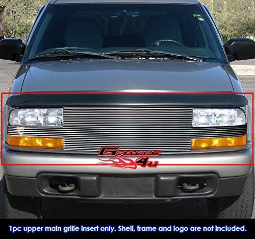For 1998 – 2004 Chevy S - 10 Pickup /ブレザーFull Faceビレットグリルグリル挿入 B073GGXFLT