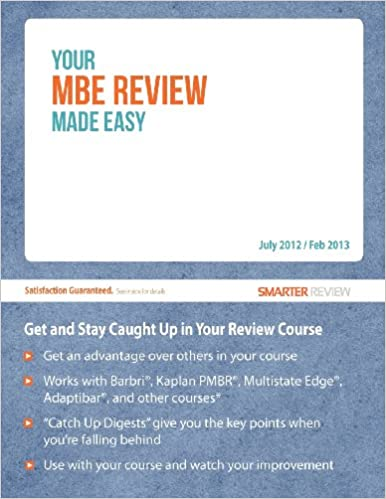 Ebooks gratis en j2ee para descargarYour MBE Review Made Easy: Get and Stay Caught Up in Your MBE Review en español FB2