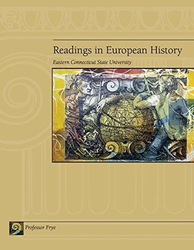 Readings in European History (Eastern Connecticut State University) - Shopping Connecticut Mall In