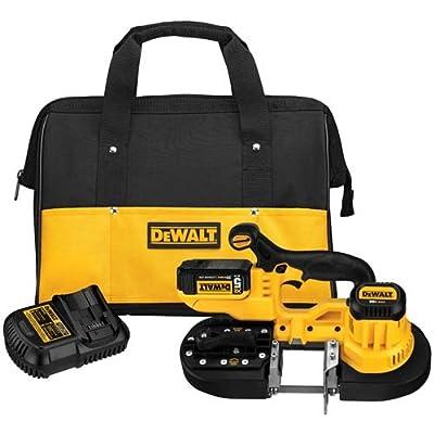 Image of DEWALT 20V MAX Portable Band Saw Kit (DCS371P1) Home Improvements