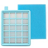 Hitommy Replacement Filter For Philips Vacuum Cleaner Hepa Filter Fc8470 Fc8471 Fc8472