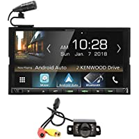 Kenwood DMX7705S 6.95 Digital Media Bluetooth Receiver w/Sirius XM+Camera