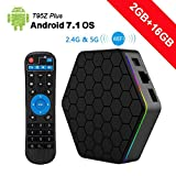Android 7.1 Tv Box, WeChip T95Z Plus 2GB RAM 16GB ROM Amlogic S912 Octa Core Dual WiFi 2.4GHz&5GHz Support 4K Full HD Bluetooth 4.0