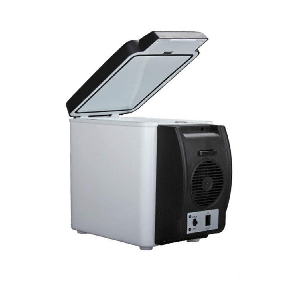 RMXMY Portable Car Fridge hot and Cold Dual System Utility Dormitory Mini car Dual Purpose 6L Small Refrigerator Auto Accessories