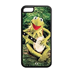 MMZ DIY PHONE CASETPU Case Cover for iphone 6 plus 5.5 inch Strong Protect Case Frog Funny Case Perfect as Christmas gift(4)