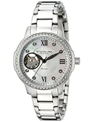 Stuhrling Original Women's 491.01 Perle 491 Silver/Silver Stainless Steel Watch