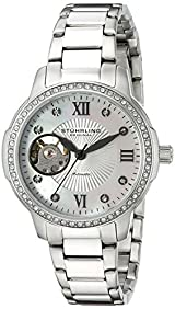 Stuhrling Original Women's 491.01 Legacy Analog Display Automatic Self Wind Silver Watch