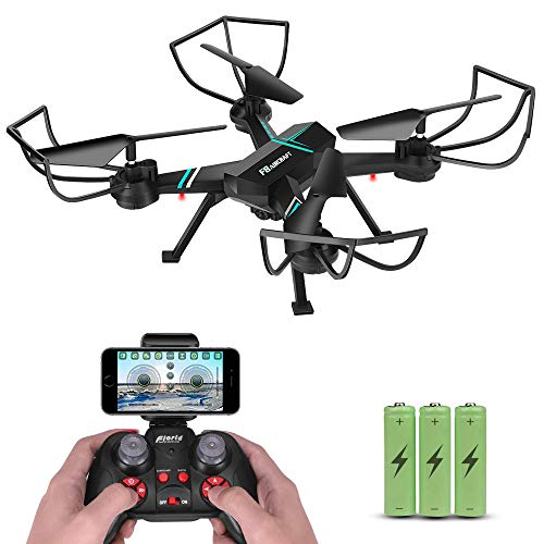 720P HD Drone with Camera for Adults Beginners Kids, JoyGeek FPV RC Remote Control Quadcopter Aircraft Wifi Live Video…